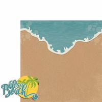 Sandy Toes: Life's a Beach 2 Piece Laser Die Cut Kit