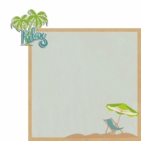 Sandy Toes: Relax 2 Piece Laser Die Cut Kit
