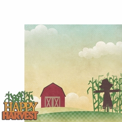 Scarecrow: Harvest 2 Piece Laser Die Cut Kit