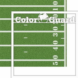1SYT School: Custom Color Guard 12 x 12 Overlay Quick page Laser Die Cut