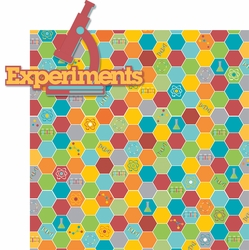 Science Fair: Experiments 2 Piece Laser Die Cut Kit