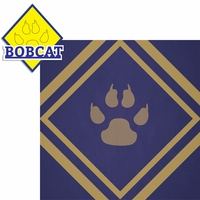 Scouting: Bobcat 2 Piece Laser Die Cut Kit