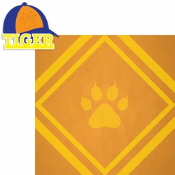 Scouting: Tiger 2 Piece Laser Die Cut Kit