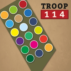 Scouting: Troop Custom 12 x 12 Paper
