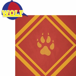 Scouting: Wolf 2 Piece Laser Die Cut Kit