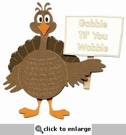 Scrap Your Trip: Custom Turkey Laser Die Cut