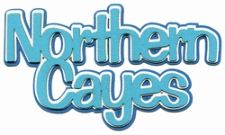 1SYT Scrap Your Trip: Northern Cayes 3-Layer Laser Title Cut