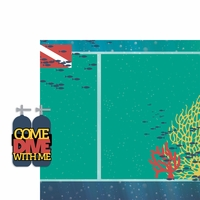 Scuba: Come Dive 2 Piece Laser Die Cut Kit
