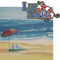 2SYT Sea Breeze: Life Saver 2 Piece Laser Die Cut Kit