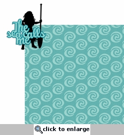 Sea calls me 2 Piece Laser Die Cut Kit