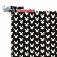 Seasoned With Magic: Dinner with Character 2 Piece Laser Die Cut Kit