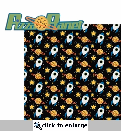 Seasoned With Magic: Pizza Planet 2 Piece Laser Die Cut Kit