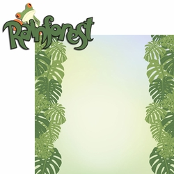 2SYT Seasoned With Magic: Rainforest 2 Piece Laser Die Cut Kit
