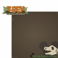 Seasoned with Magic: T-REX 2 Piece Laser Die Cut Kit