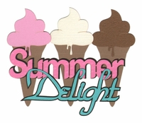 Seasons: Summer Delight Laser Die Cut