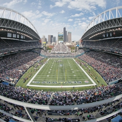 Seattle: CenturyLink Field 12 x 12 Paper