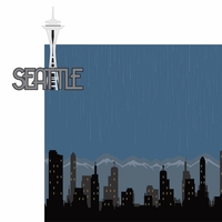 Seattle: Seattle 2 Piece Laser Die Cut Kit