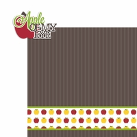 September: Apple of my Eye 2 Piece Laser Die Cut Kit