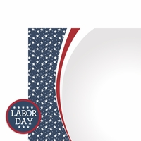 September: Labor Day 2 Piece Laser Die Cut Kit