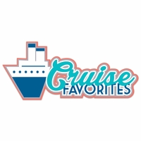 Setting Sail: Cruise Favorites Laser Die Cut