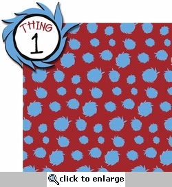 Seuss: Thing 1 2 Piece Laser Die Cut Kit