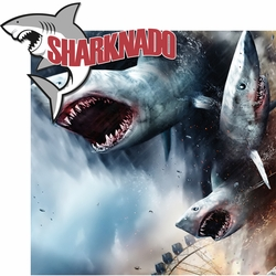 Sharknado 2 Piece Laser Die Cut Kit