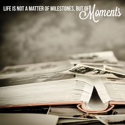 Simple Sayings: Moments 12 x 12 Paper