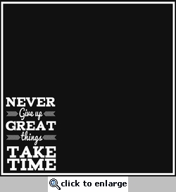 Simple Sayings: Never Give Up