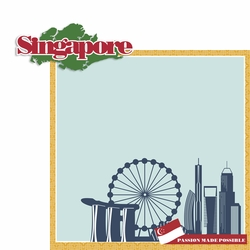 Singapore 2 Piece Laser Die Cut Kit