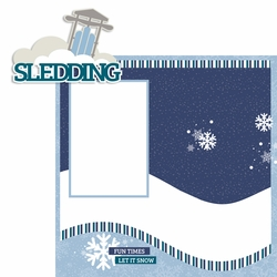 Sledding 2 Piece Laser Die Cut Kit