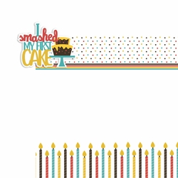 Smashed Cake 2 Piece Laser Die Cut Kit
