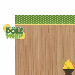 Snack Attack: Dole Whip 2 Piece Laser Die Cut Kit