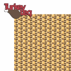 Snacktastic: Turkey Leg 2 Piece Laser Die Cut Kit