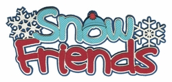 2SYT Snow Friends Laser Die Cut