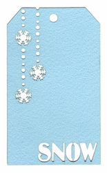 2SYT Snow Tag Laser Die Cut