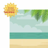 Soak up the Sunshine 2 Piece Laser Die Cut Kit