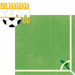 Soccer Champ: Go Team Go 2 Piece Laser Die Cut Kit
