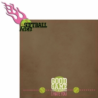 Softball: Fever 2 Piece Laser Die Cut Kit