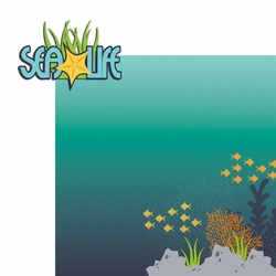 Something Fishy: Sea Life 2 Piece Laser Die Cut Kit