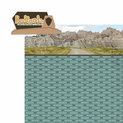 South Dakota: Badlands 2 Piece Laser Die Cut Kit