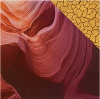 Southwest Adventure: Antelope Canyon 12 x 12 Double Sided Cardstock