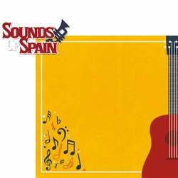 Spain: Sounds Of Spain 2 Piece Laser Die Cut Kit