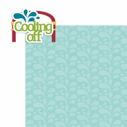 Splash Pad: Cooling Off 2 Piece Laser Die Cut Kit