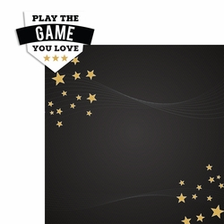 Sports Inspiration: Plays the Game 2 Piece Laser Die Cut Kit