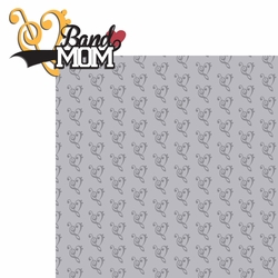 2SYT Sports Mom: Band Mom 2 Piece Laser Die Cut Kit