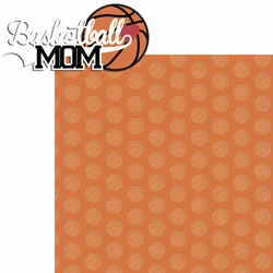2SYT Sports Mom: Basketball Mom 2 Piece Laser Die Cut Kit