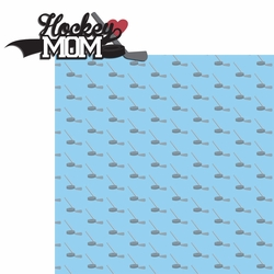 2SYT Sports Mom: Hockey Mom 2 Piece Laser Die Cut Kit