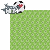 Sports Mom: Soccer Mom 2 Piece Laser Die Cut Kit