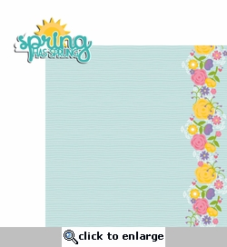 Spring: Spring has Sprung 2 Piece Laser Die Cut Kit
