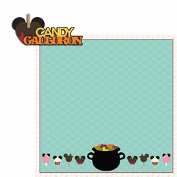 Springs: Candy Cauldron 2 Piece Laser Die Cut Kit